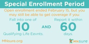 MNsure special enrollment